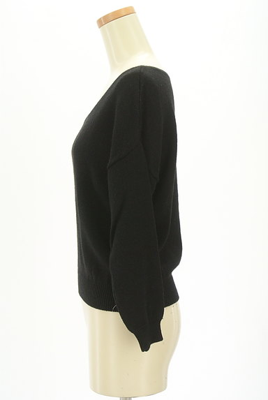 JUSGLITTY(ジャスグリッティー)の古着「シンプルニット(ニット)」大画像3へ