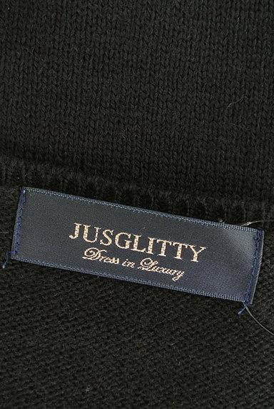 JUSGLITTY(ジャスグリッティー)の古着「シンプルニット(ニット)」大画像6へ