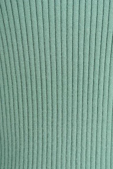 LAISSE PASSE(レッセパッセ)の古着「フラワー襟リブニット(ニット)」大画像5へ