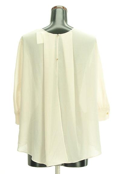 Abahouse Devinette(アバハウスドゥヴィネット)の古着「七分袖タックシフォンブラウス(カットソー・プルオーバー)」大画像2へ
