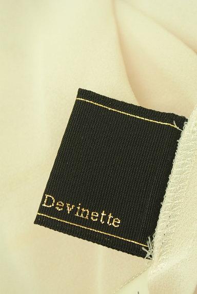 Abahouse Devinette(アバハウスドゥヴィネット)の古着「七分袖タックシフォンブラウス(カットソー・プルオーバー)」大画像6へ