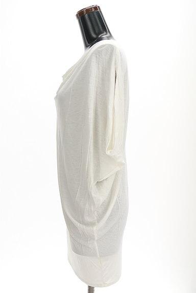Abahouse Devinette(アバハウスドゥヴィネット)の古着「シンプルドレープカットソー(カットソー・プルオーバー)」大画像3へ