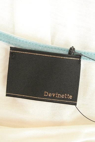 Abahouse Devinette(アバハウスドゥヴィネット)の古着「シンプルドレープカットソー(カットソー・プルオーバー)」大画像6へ