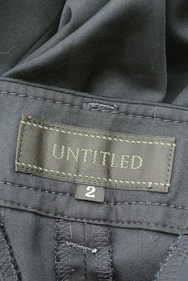 UNTITLED(アンタイトル)の古着「シンプルクロップドパンツ(パンツ)」大画像6へ