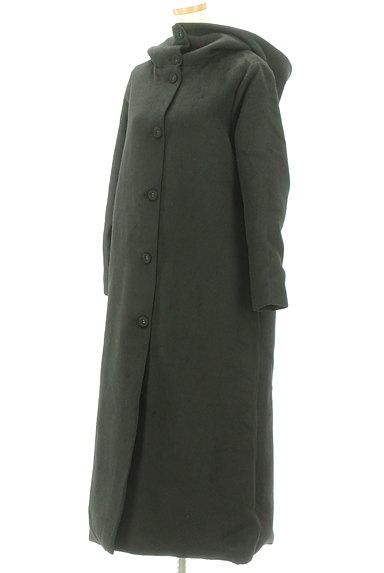 antiqua(アンティカ)の古着「フード付きロングウールコート(コート)」大画像3へ