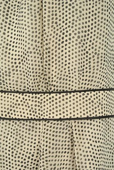 SunaUna(スーナウーナ)の古着「変形ドットシフォンワンピース(ワンピース・チュニック)」大画像5へ