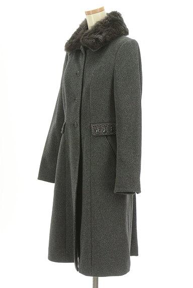 SunaUna(スーナウーナ)の古着「バックフレアロングウールコート(コート)」大画像3へ