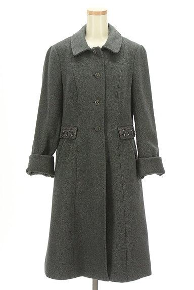 SunaUna(スーナウーナ)の古着「バックフレアロングウールコート(コート)」大画像4へ