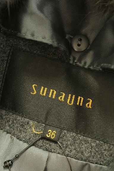 SunaUna(スーナウーナ)の古着「バックフレアロングウールコート(コート)」大画像6へ