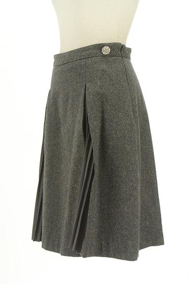 PROPORTION BODY DRESSING(プロポーションボディ ドレッシング)の古着「シフォンプリーツスリットフレアスカート(ミニスカート)」大画像3へ