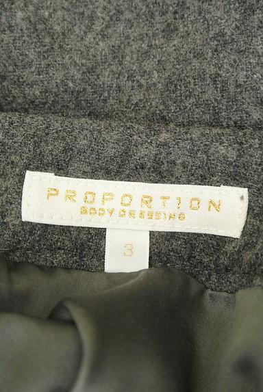 PROPORTION BODY DRESSING(プロポーションボディ ドレッシング)の古着「シフォンプリーツスリットフレアスカート(ミニスカート)」大画像6へ