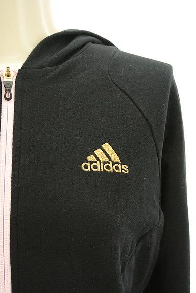 adidas(アディダス)の古着「ワンポイントフード付きジャージトップス(ジャージトップス)」大画像4へ