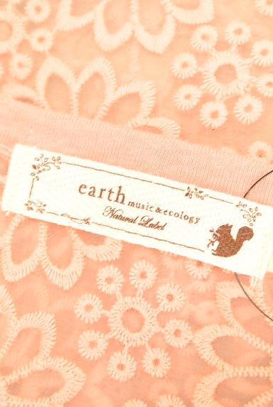 earth music&ecology(アースミュージック&エコロジー)の古着「オーガンジー花刺繍カットソー(カットソー・プルオーバー)」大画像6へ