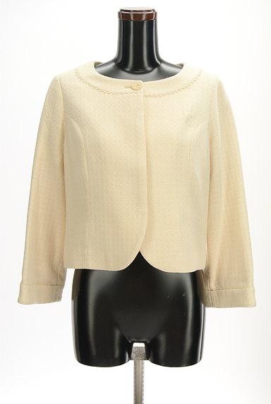 Jocomomola(ホコモモラ)の古着「ラウンドヘムピコレースジャケット(ジャケット)」大画像1へ