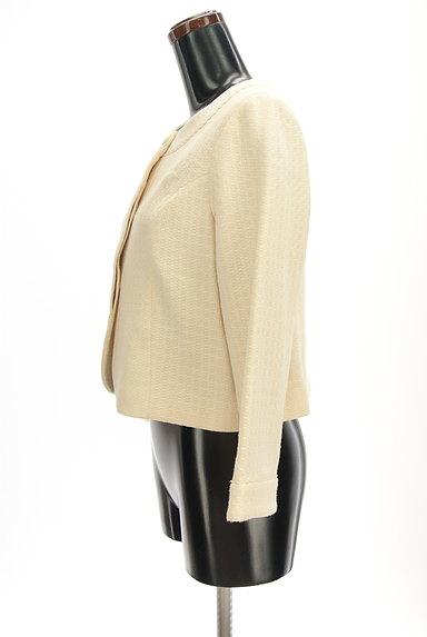 Jocomomola(ホコモモラ)の古着「ラウンドヘムピコレースジャケット(ジャケット)」大画像3へ