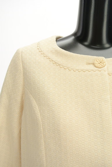 Jocomomola(ホコモモラ)の古着「ラウンドヘムピコレースジャケット(ジャケット)」大画像4へ