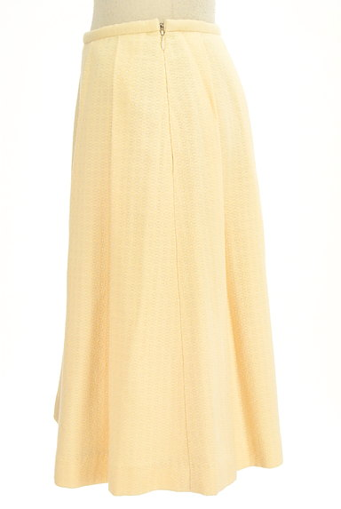 Jocomomola(ホコモモラ)の古着「ワイドプリーツミモレスカート(スカート)」大画像3へ