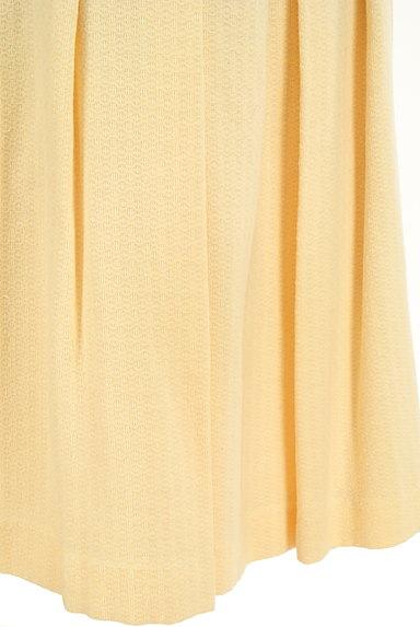 Jocomomola(ホコモモラ)の古着「ワイドプリーツミモレスカート(スカート)」大画像5へ