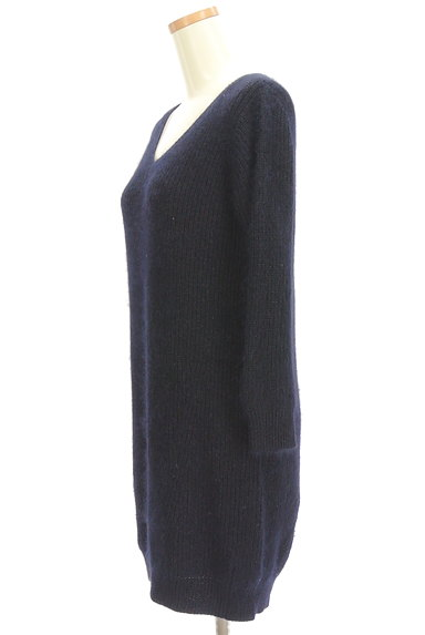 PROPORTION BODY DRESSING(プロポーションボディ ドレッシング)の古着「Vネックロングニット(ニット)」大画像3へ