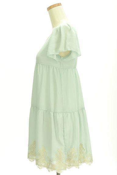 LODISPOTTO(ロディスポット)の古着「裾レースティアードワンピース(ワンピース・チュニック)」大画像3へ