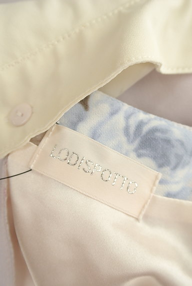 LODISPOTTO(ロディスポット)の古着「襟付きフラワータックワンピ(ワンピース・チュニック)」大画像6へ