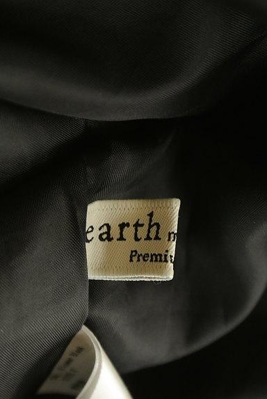 earth music&ecology(アースミュージック&エコロジー)の古着「小花柄ボウタイリボンロングワンピ(ワンピース・チュニック)」大画像6へ