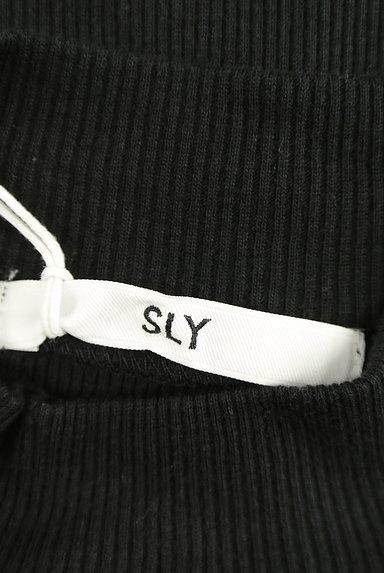 SLY(スライ)の古着「ハイネックタイトリブカットソー(カットソー・プルオーバー)」大画像6へ