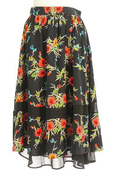 SLY(スライ)の古着「リゾート花柄ロングフレアスカート(ロングスカート・マキシスカート)」大画像1へ