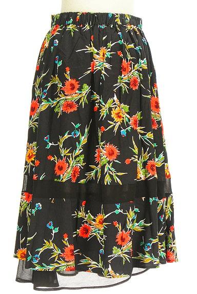 SLY(スライ)の古着「リゾート花柄ロングフレアスカート(ロングスカート・マキシスカート)」大画像2へ
