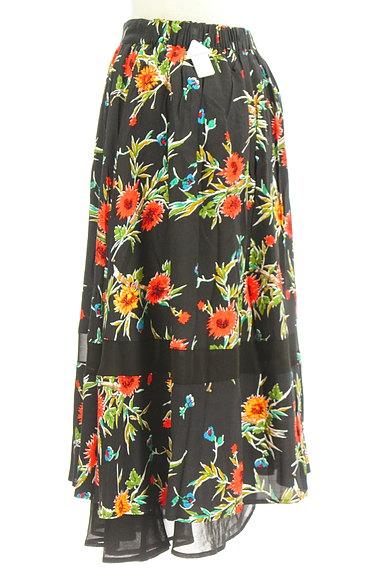 SLY(スライ)の古着「リゾート花柄ロングフレアスカート(ロングスカート・マキシスカート)」大画像4へ