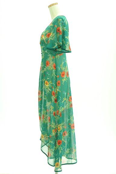 SLY(スライ)の古着「リゾート花柄シアーロングカーディガン(カーディガン・ボレロ)」大画像3へ