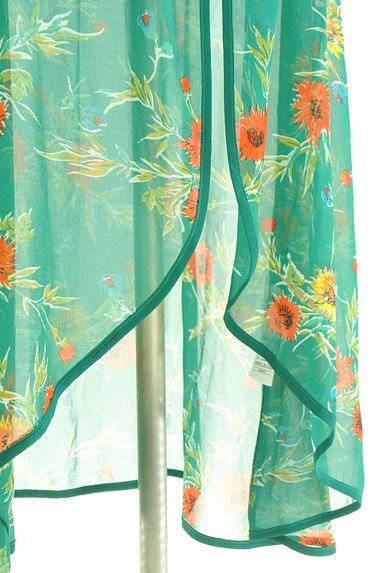 SLY(スライ)の古着「リゾート花柄シアーロングカーディガン(カーディガン・ボレロ)」大画像5へ