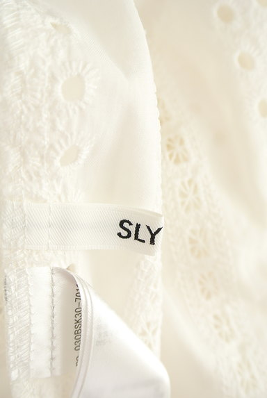SLY(スライ)の古着「カットワークオフショルブラウス(カットソー・プルオーバー)」大画像6へ
