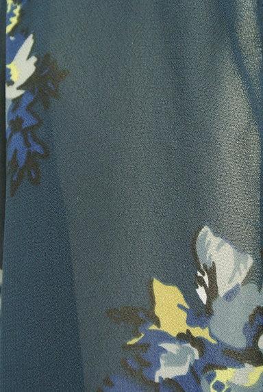 MOUSSY(マウジー)の古着「花柄シアーシフォンカーディガン(カーディガン・ボレロ)」大画像5へ