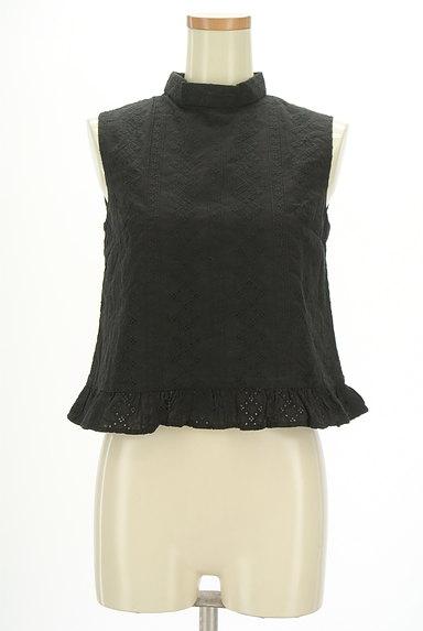 SLY(スライ)の古着「裾フリルレースハイネックカットソー(カットソー・プルオーバー)」大画像1へ