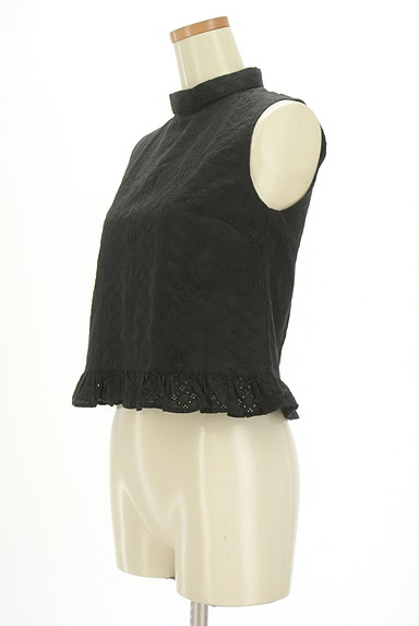SLY(スライ)の古着「裾フリルレースハイネックカットソー(カットソー・プルオーバー)」大画像3へ