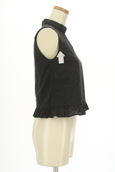 SLY(スライ)の古着「裾フリルレースハイネックカットソー(カットソー・プルオーバー)」大画像4へ