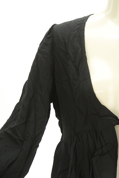 SLY(スライ)の古着「コンパクトペプラムカーディガン(カーディガン・ボレロ)」大画像4へ