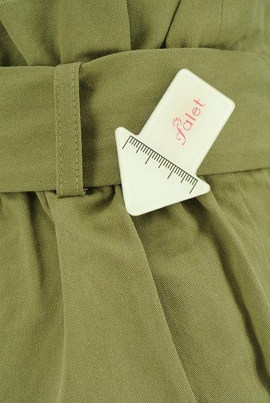 AZUL by moussy(アズールバイマウジー)の古着「ハイウエストリボンワイドパンツ(パンツ)」大画像5へ