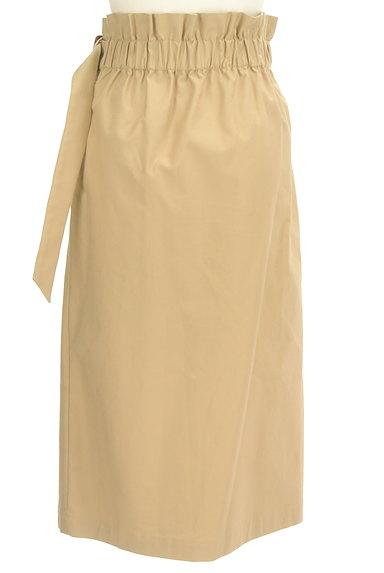 PLST(プラステ)の古着「ラップ風ハイウエストロングスカート(ロングスカート・マキシスカート)」大画像2へ