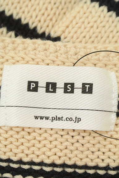 PLST(プラステ)の古着「ボートネックボーダーニット(ニット)」大画像6へ