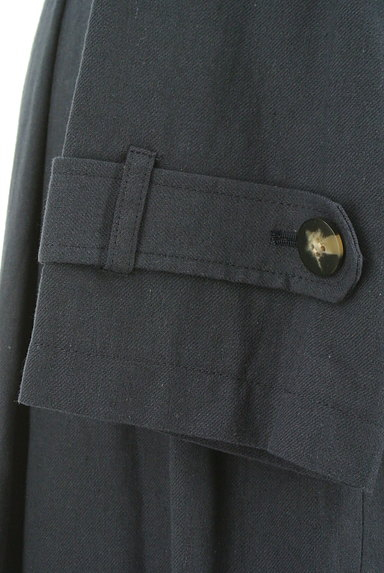 ROSE BUD(ローズバッド)の古着「ベルト付きコットンリネンロングコート(トレンチコート)」大画像5へ