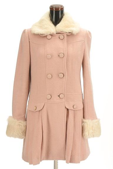 LODISPOTTO(ロディスポット)の古着「衿袖ファー付プリーツロングコート(コート)」大画像1へ