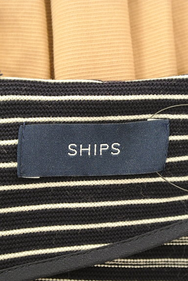 SHIPS(シップス)の古着「ボーダー切替ドッキング7分袖ワンピ(ワンピース・チュニック)」大画像6へ