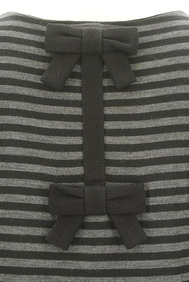 anatelier(アナトリエ)の古着「リボン付きボーダー七分袖ワンピース(ワンピース・チュニック)」大画像4へ