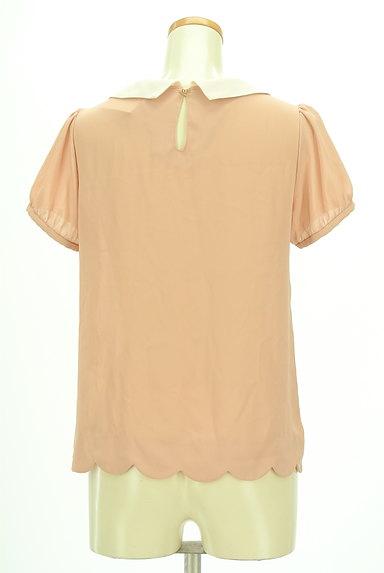 Bon mercerie(ボンメルスリー)の古着「丸襟スカラップカットソー(カットソー・プルオーバー)」大画像2へ