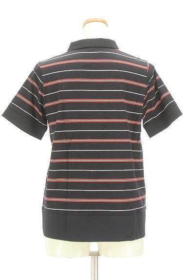 McGREGOR(マックレガー)の古着「スキッパーカラーボーダーポロシャツ(カットソー・プルオーバー)」大画像2へ