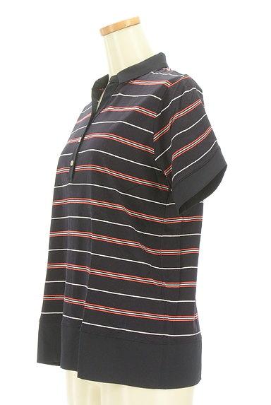 McGREGOR(マックレガー)の古着「スキッパーカラーボーダーポロシャツ(カットソー・プルオーバー)」大画像3へ
