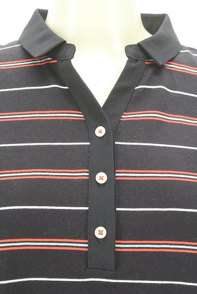 McGREGOR(マックレガー)の古着「スキッパーカラーボーダーポロシャツ(カットソー・プルオーバー)」大画像4へ