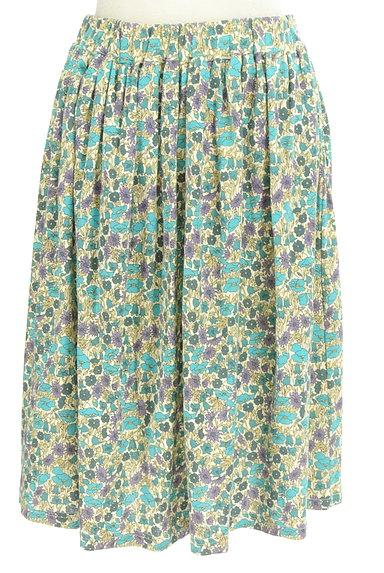 NIMES(ニーム)の古着「レトロ小花柄ギャザースカート(スカート)」大画像1へ